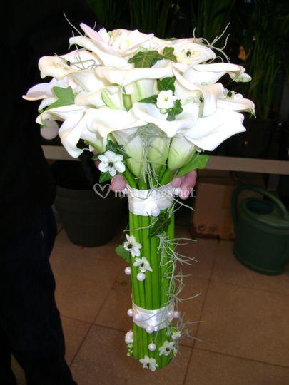 Bouquet de mariée spectre