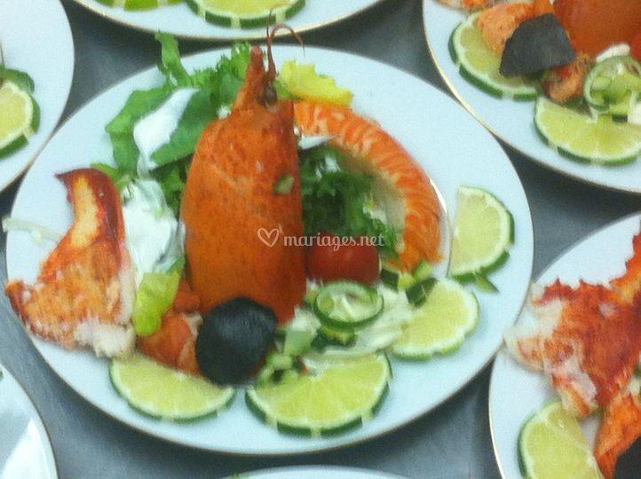 Salade de queue langouste