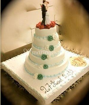 Gâteau de mariage sur Boulangerie Giustinati