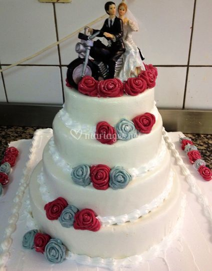 Wedding cake moto