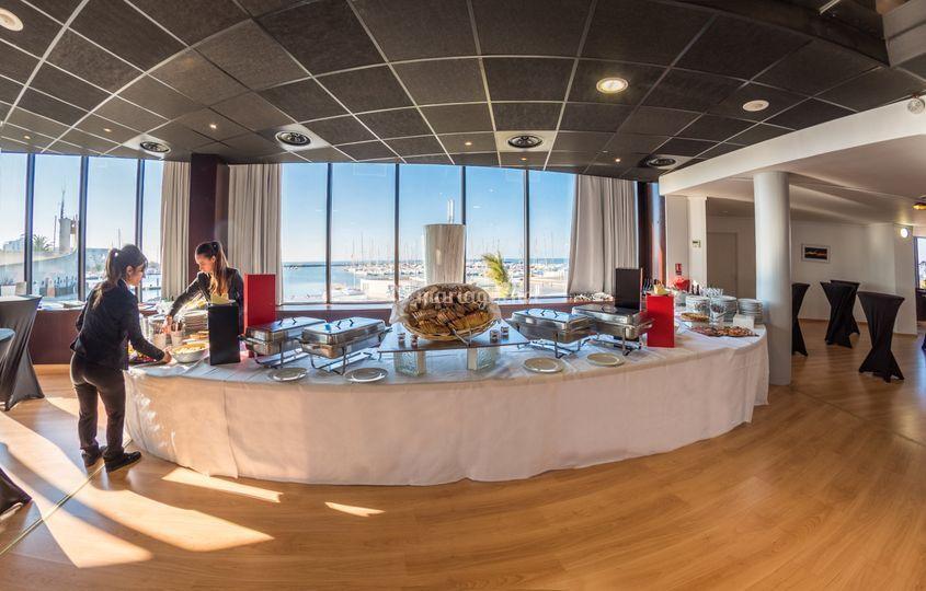 Salle Levant buffet