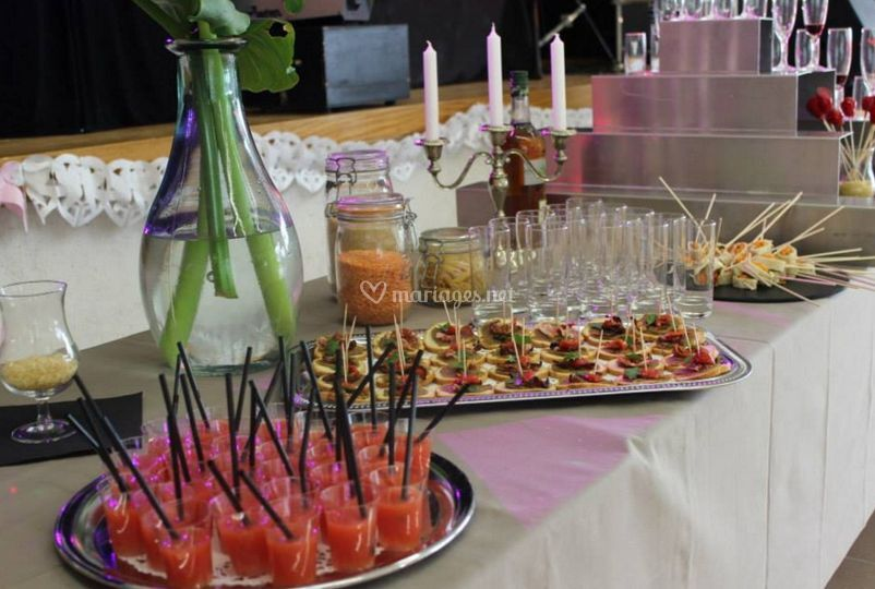 Table de bonbons