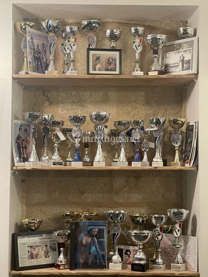 74 trophées Coiffure