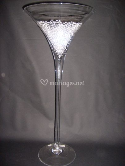 Location vase martini