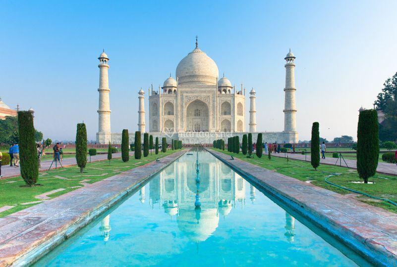 Bigstock Taj Mahal at Sunrise