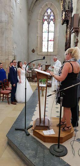Chant pour les mariés