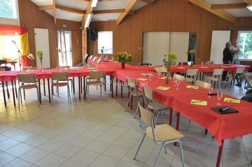 Réception Le Lignon, Paëlla