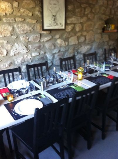 Salle restaurant, 16 couverts