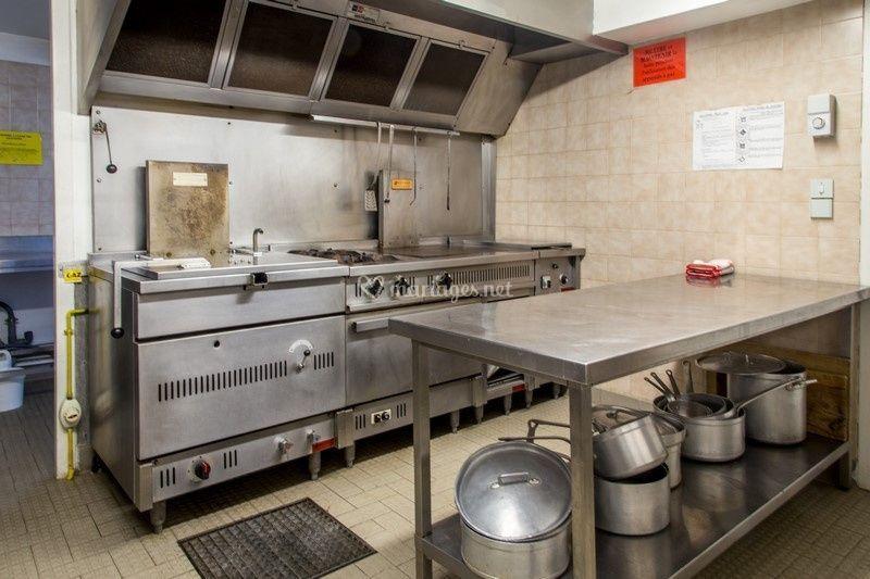 La grange rouge for Devis cuisine professionnelle
