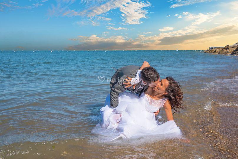 La mariée chute