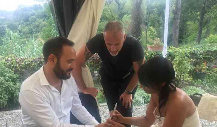 Alberto et Cristina Merletti - Magicien