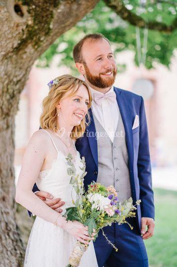Nos beaux mariés