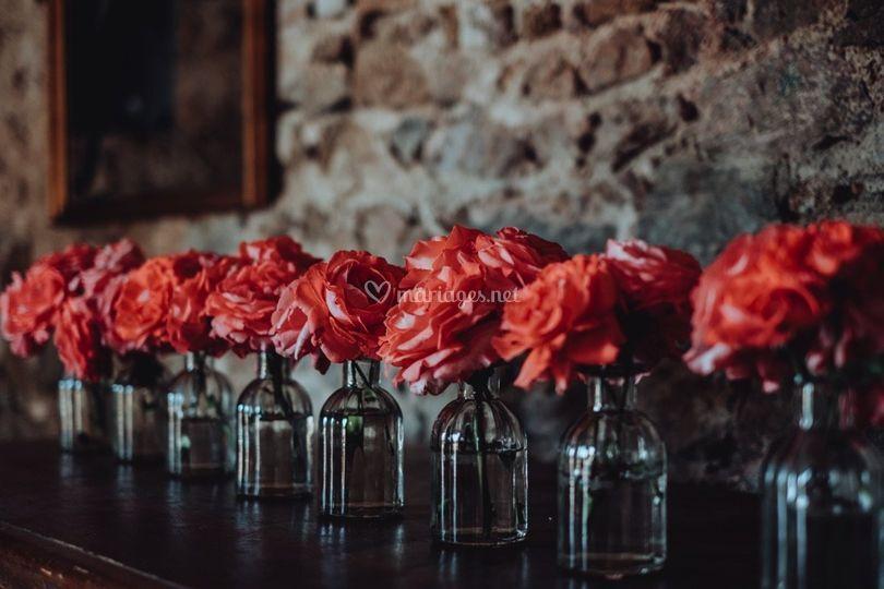 Décoration salle Fleur de Lys
