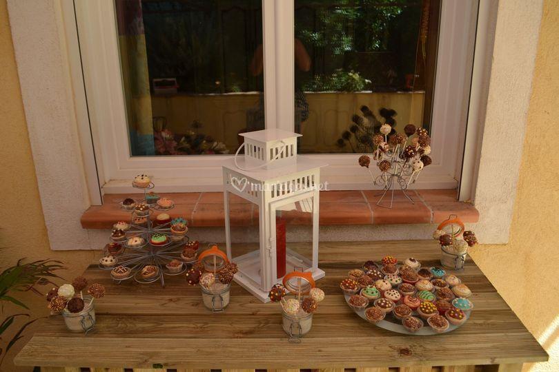 Cupcakes et popcakes bar