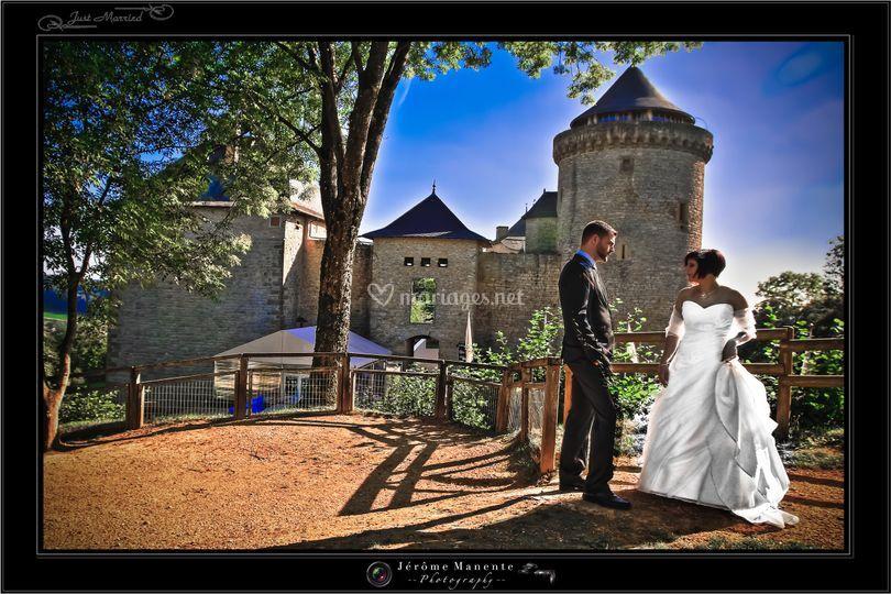Photo d'après-mariage