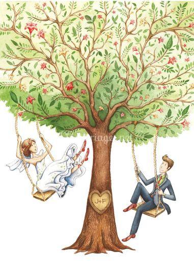 Faire-part mariage Eden