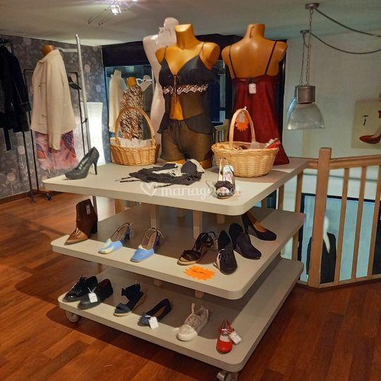 Chaussures et lingeries