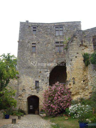 Châtelet du château
