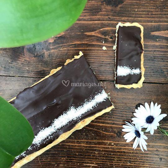 Tarte chocolat & coco