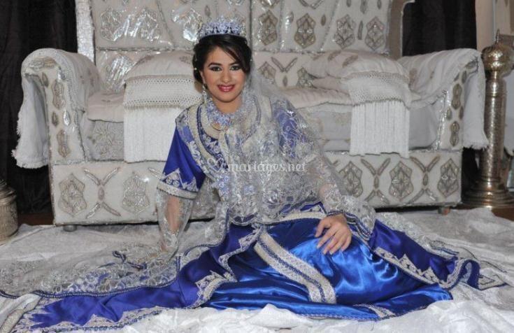 Pose de la mariée