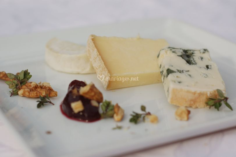L'assiette des fromages rouergats et confit de groseille