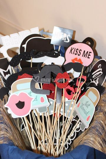 Accessoire photo booth