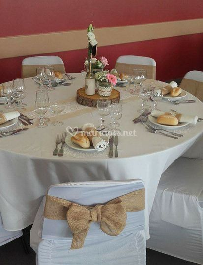 Mise en place table