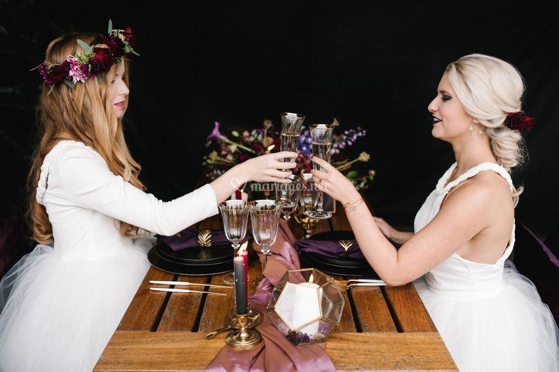 Shoot mariage Céleste & Stella