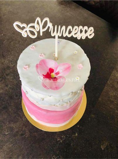 Naked cake princesse