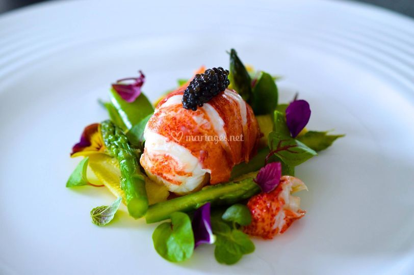 Homard & caviar