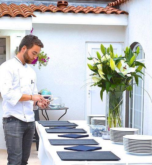 Chef Jean-Rémi Joly