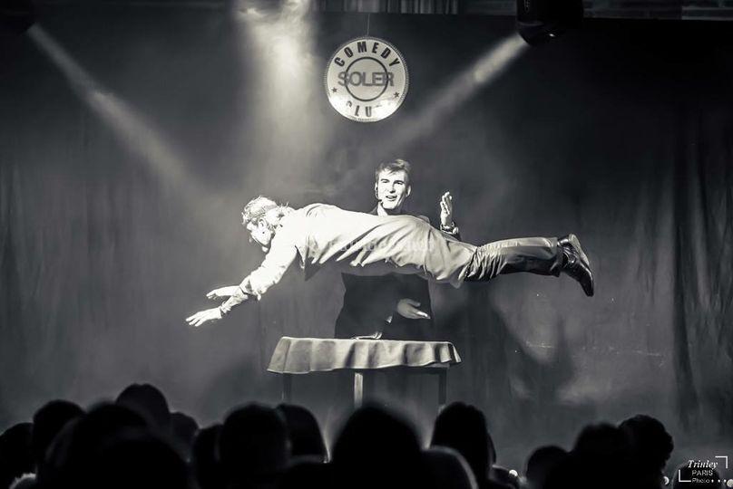 Levitation spectateur