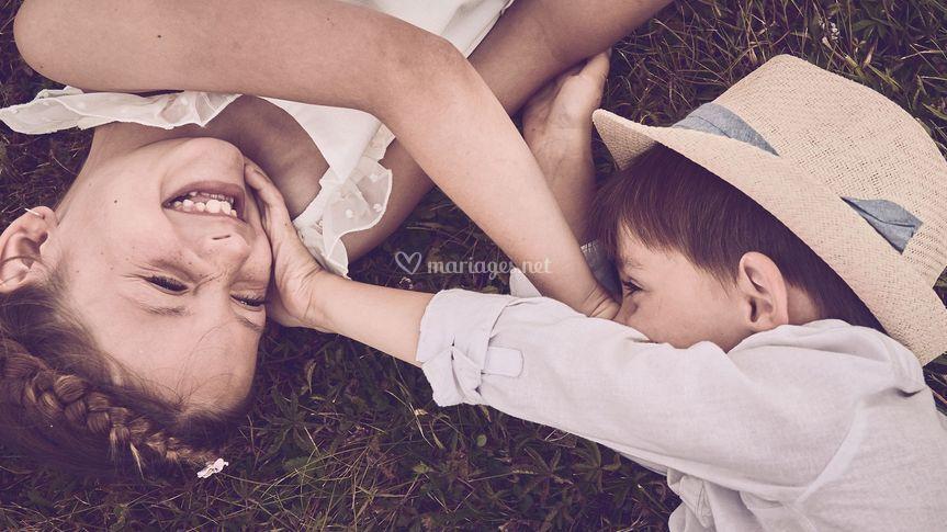 Les enfants des mariés