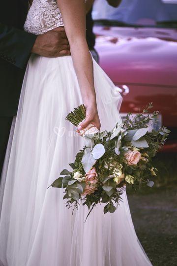 Bouquet, détail