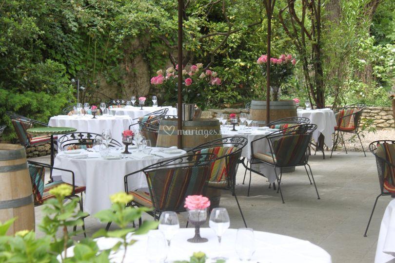 Ext rieur jardin de mas de cure bourse photos for Bourse exterieur