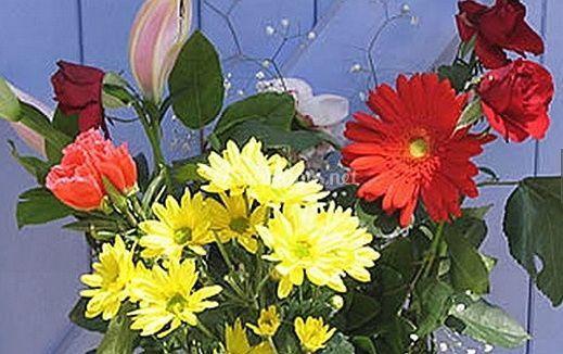 Fleurs toujours frais