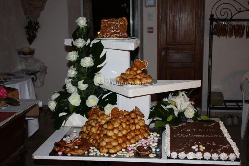 Pièce montée ou gâteau