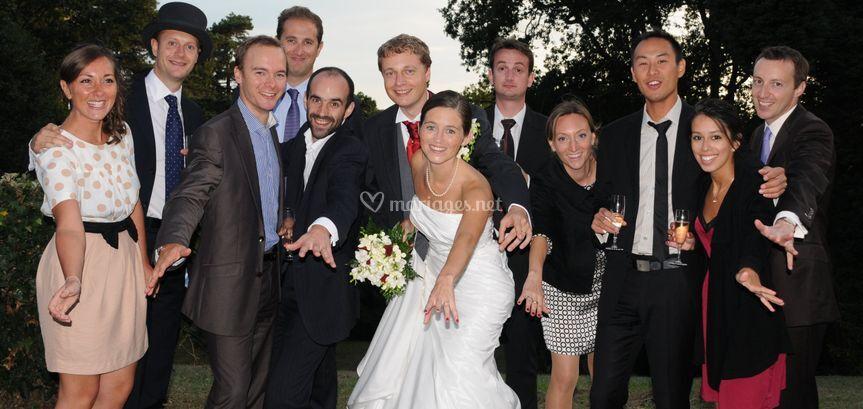 Mariage groupe
