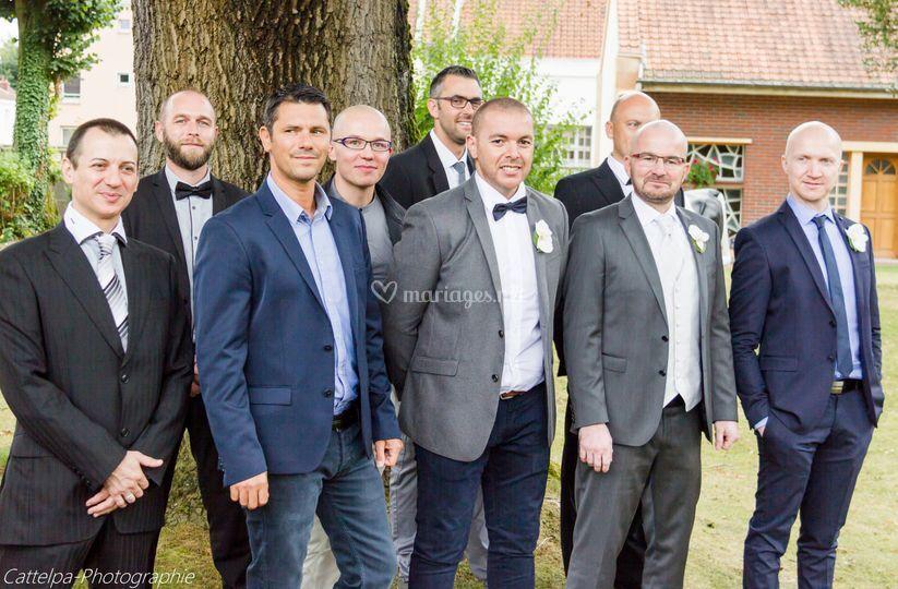 Les potes du marié