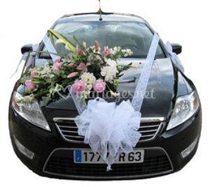 Arrangements floraux pour les voitures