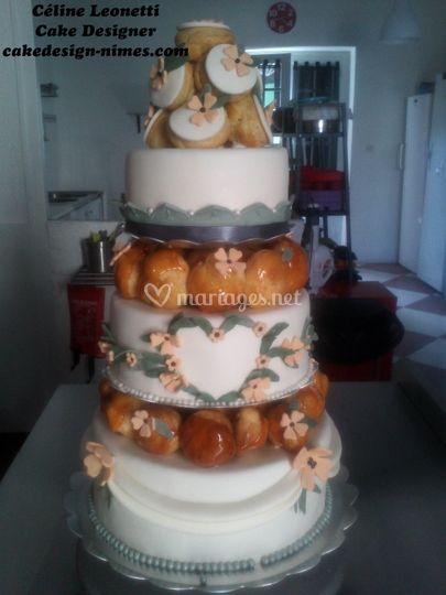 Wedding cake et choux