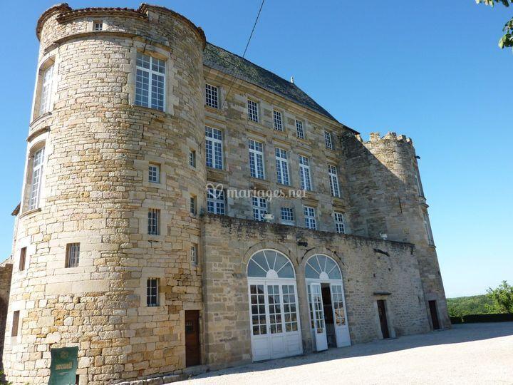 Chateau coté sud