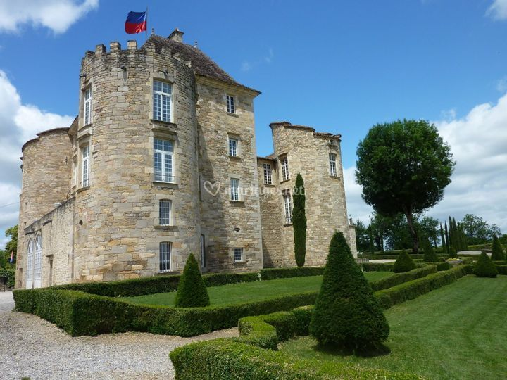 Chateau coté est