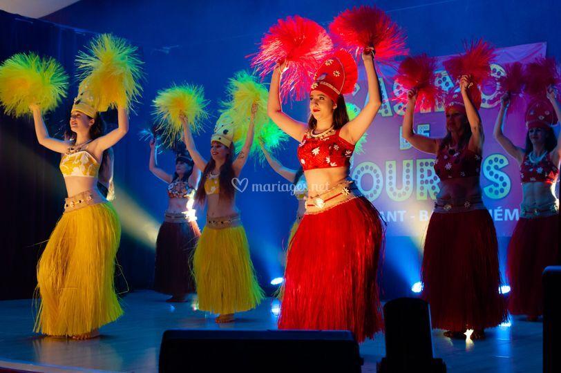 Prestation en danse tahitienne