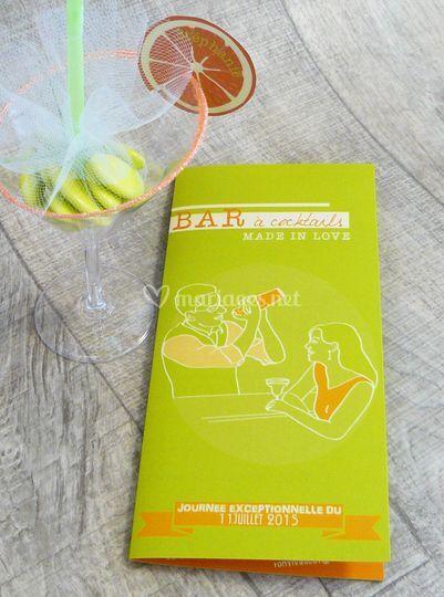 Faire-part cocktail