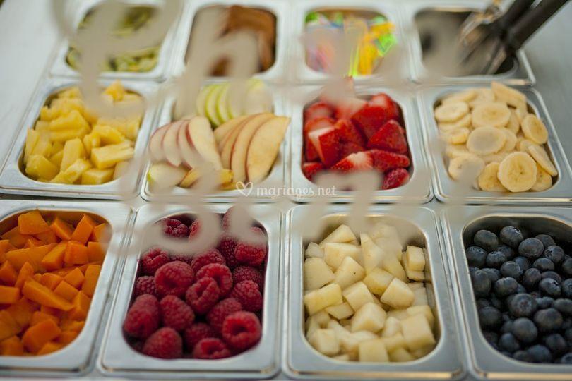 Fruits frais locaux