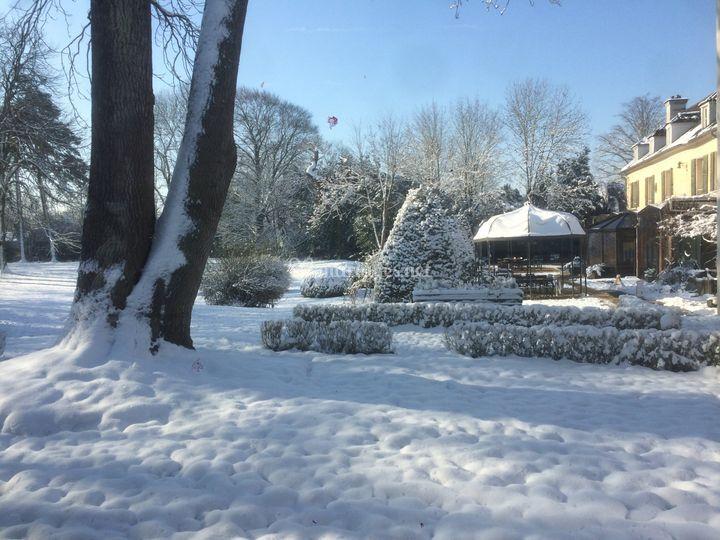 Varennes sous la neige