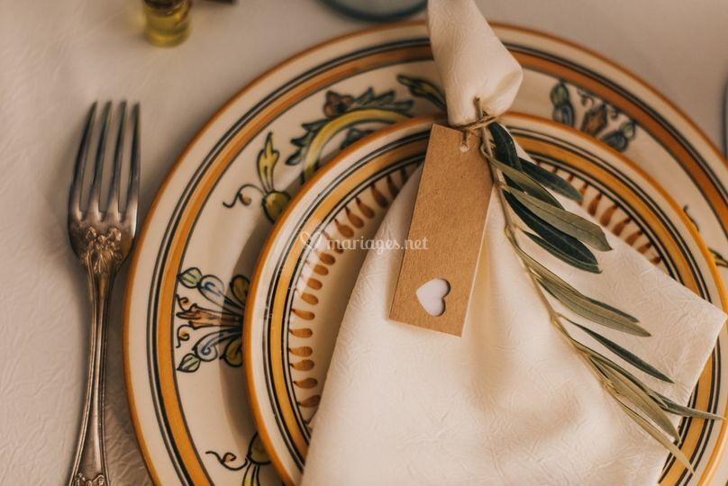 Table mariage inspiration tosc