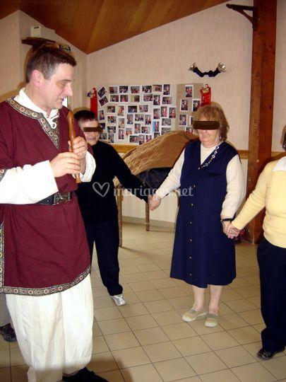 Initiation à la dance médiévale