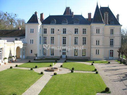 Cour honneur Château Villiers